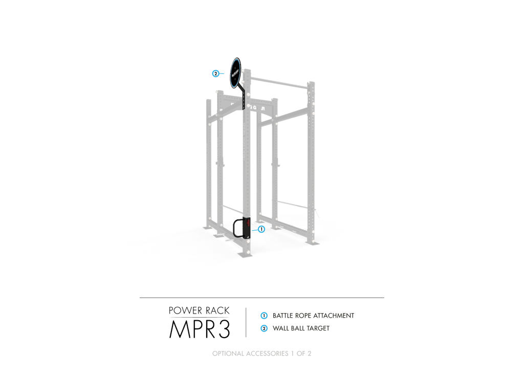 MPR3 Mammoth Power Rack