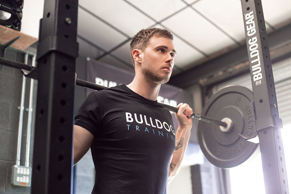 Bulldog Training Tee - Black - Unisex