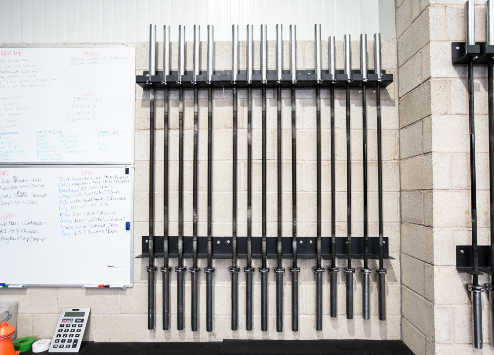 Vertical Bar Gun Rack