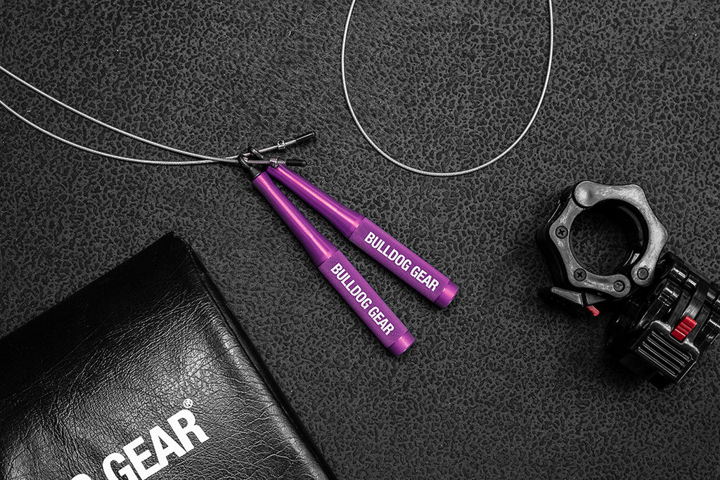 Bulldog Gear - JR2 Bearing Jump Rope - Purple (LH)