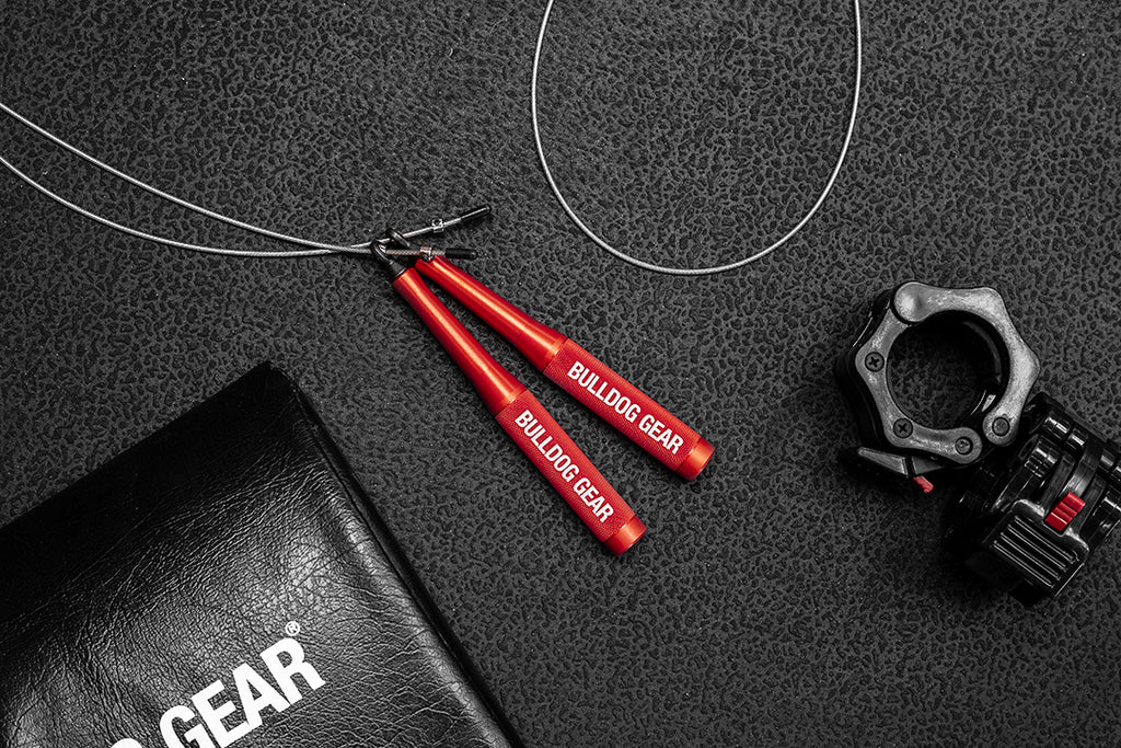 Bulldog Gear - JR2 Bearing Jump Rope - Red (LH)