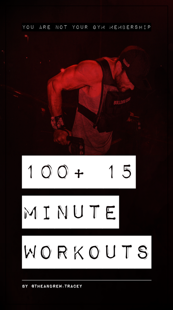 100+ 15 Minute Workouts - Andrew Tracey