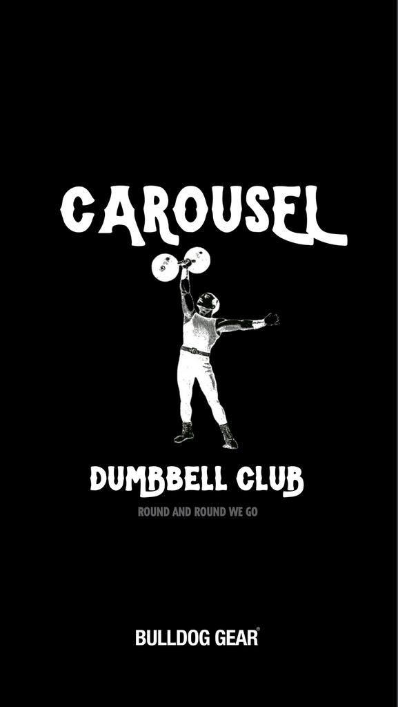 Carousel Dumbbell Club - Paul Warrior x Andrew Tracey