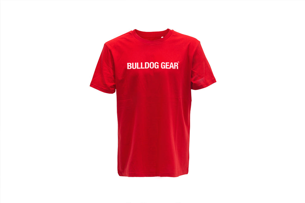 Bulldog Gear Tee - Red - Unisex