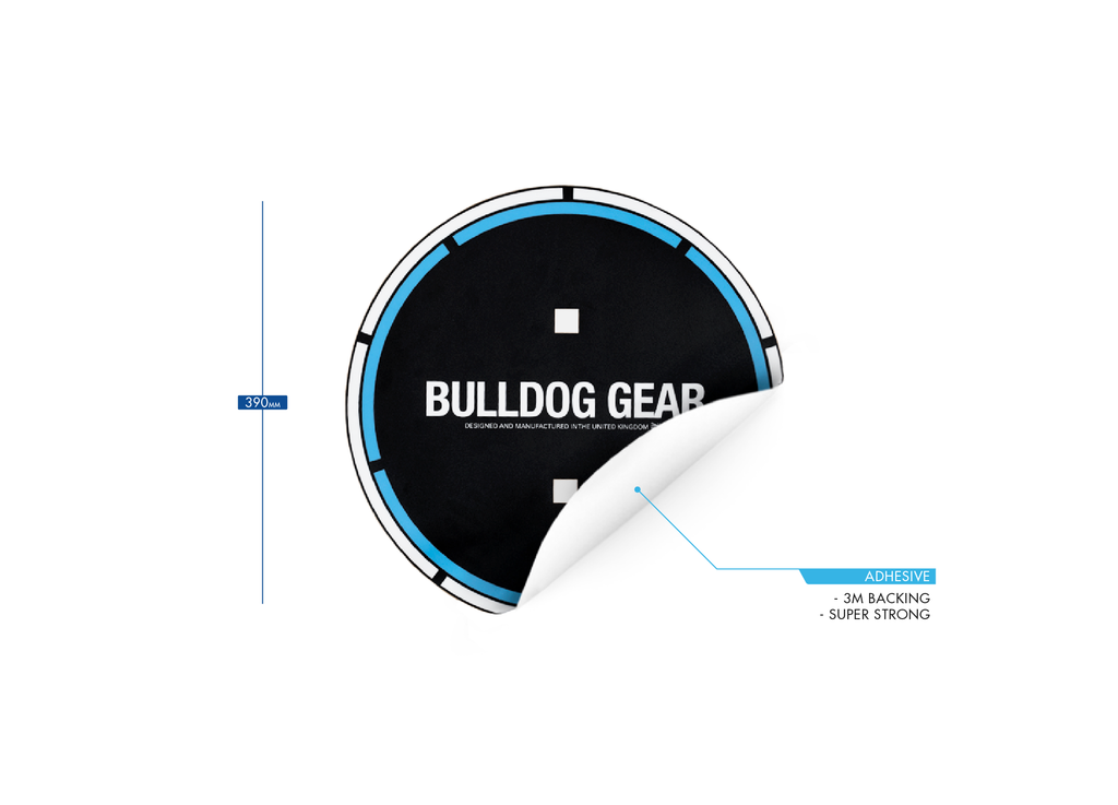 Bulldog Gear - Wall Ball Target Sticker