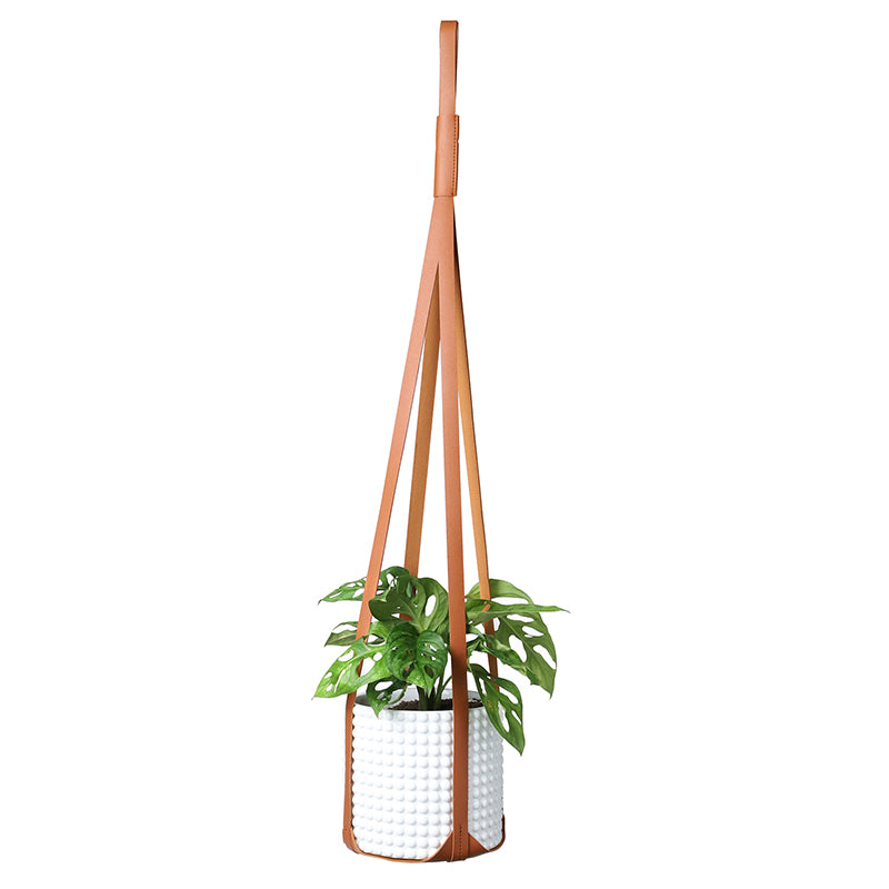 Minimal Plant hanger, Saddle Brown