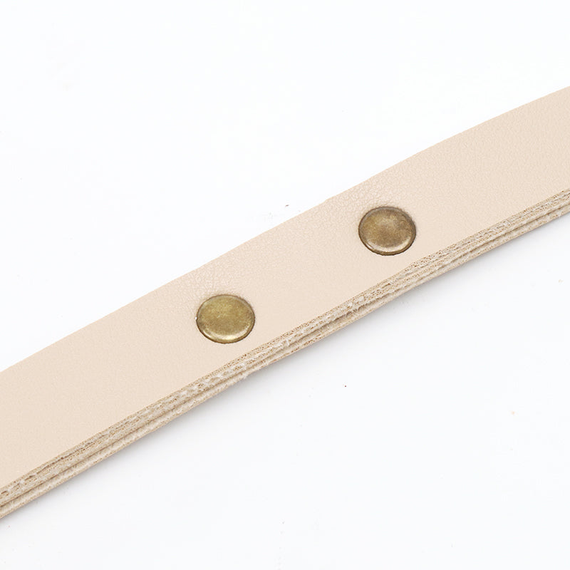 Vegan leather Plnant Hanger, Beige