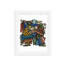 Load image into Gallery viewer, Bird Hero Framed Print