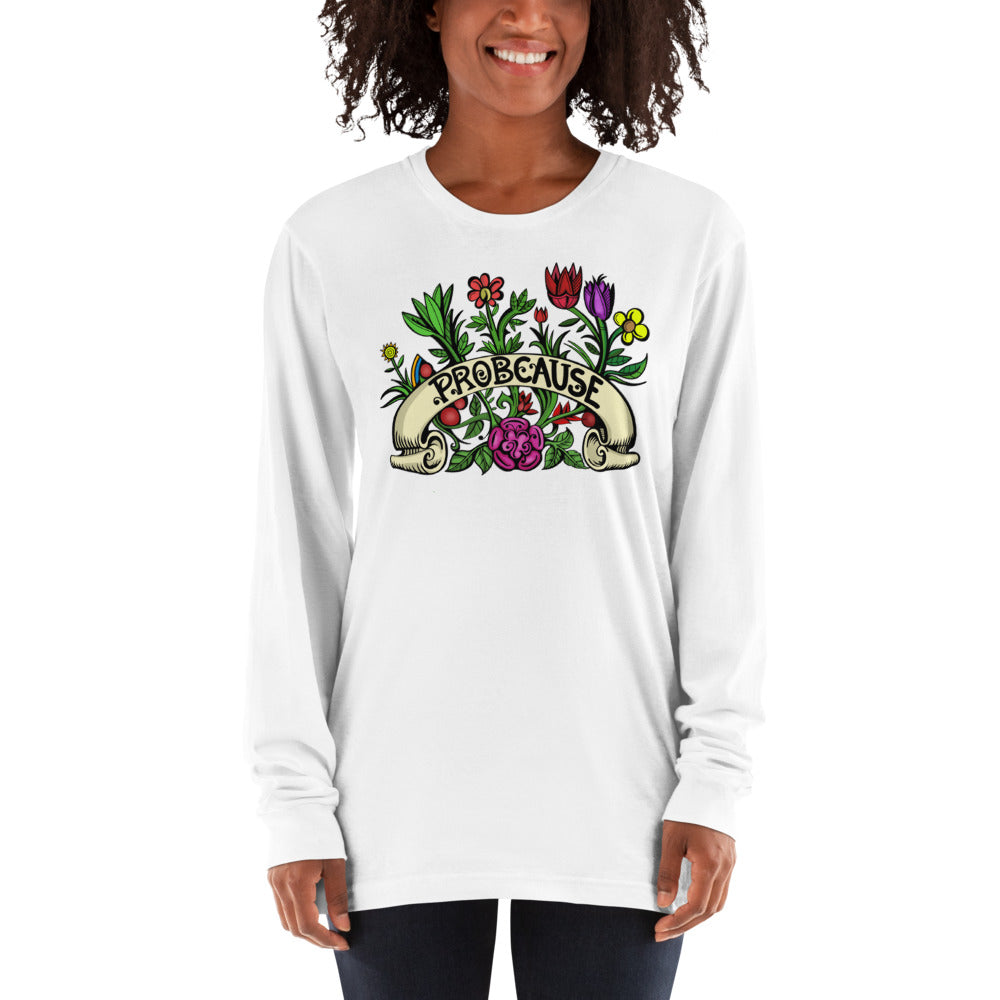 Prob Flower Long sleeve t-shirt