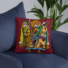 Load image into Gallery viewer, Prob Tiger Pillow