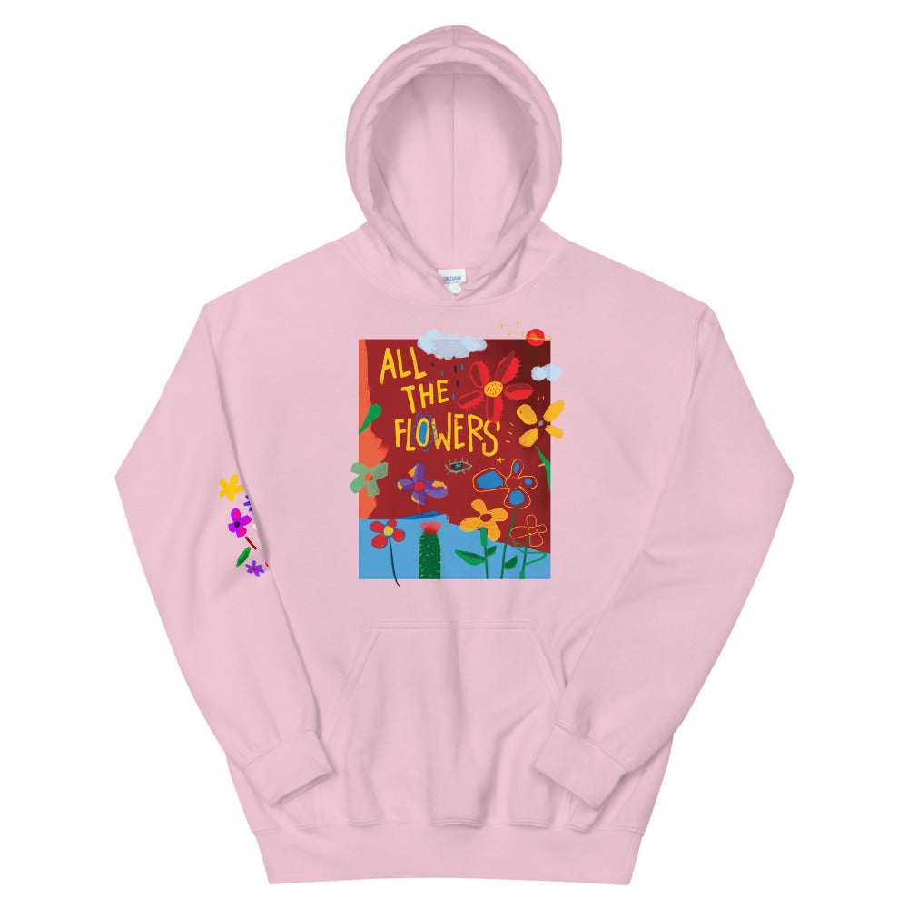 All the Flowers Hoodie (Pink)