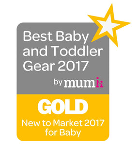 Best Baby and Todler Gear 2017 by Mum Award Gold
