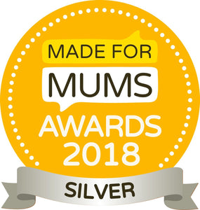 Made for Mums Award 2018  Silver