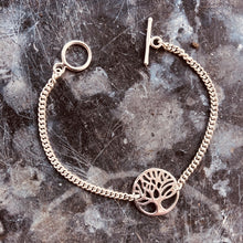 Load image into Gallery viewer, Tree of Life Silver Bracelet