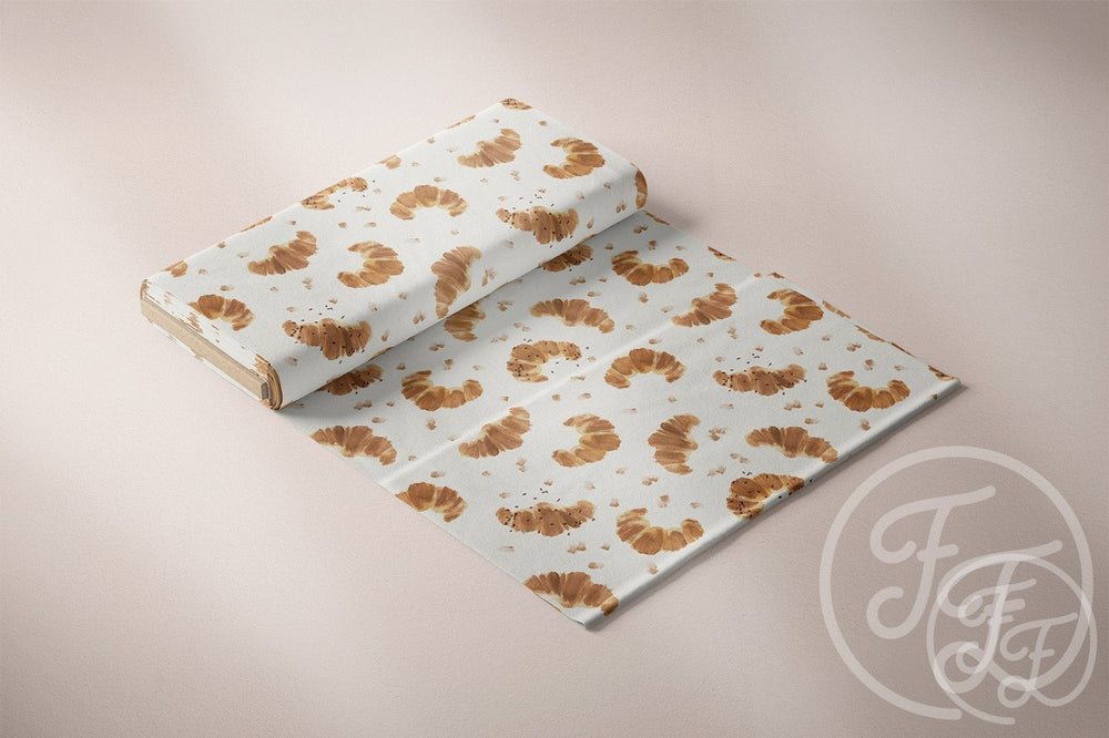 Croissants Jersey-Family Fabrics DesignFile