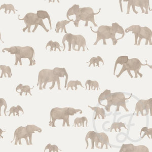 Elephants-Family Fabrics DesignFile