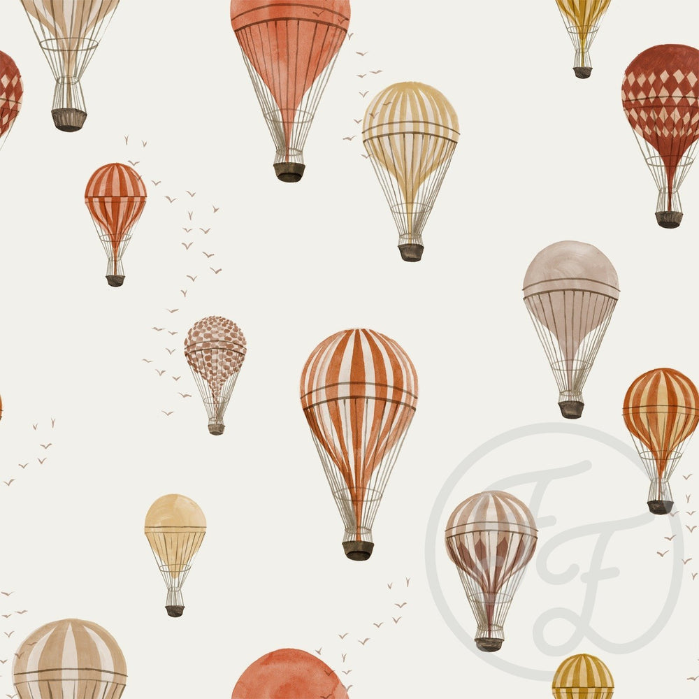 Hot Air Balloons-Family Fabrics