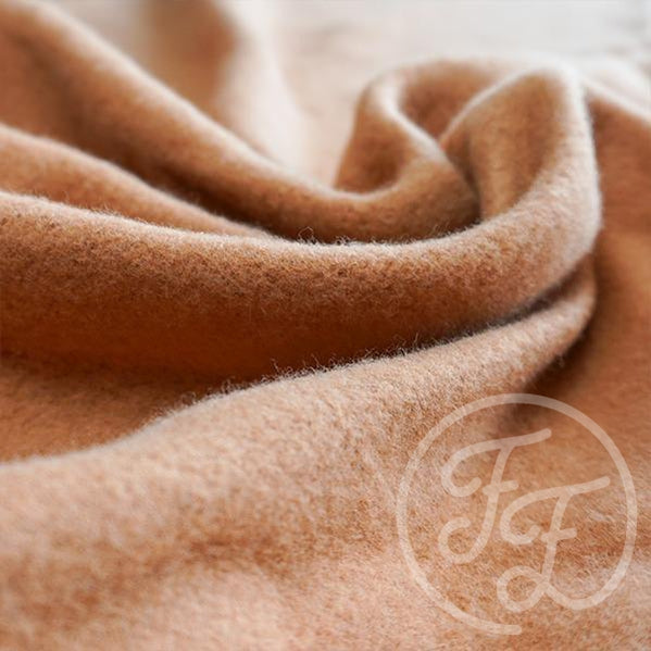 Pecan Sweat Fleece-Family Fabrics