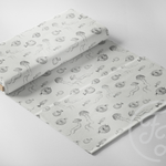 Pufferfish Grey Jersey-Family Fabrics