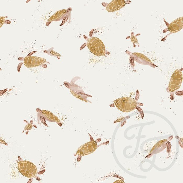 Turtles Jersey-Family Fabrics