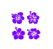 Load image into Gallery viewer, hibiscus flower decals car truck window laptop craft project decals