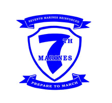 Load image into Gallery viewer, 7th marines regiment sticker