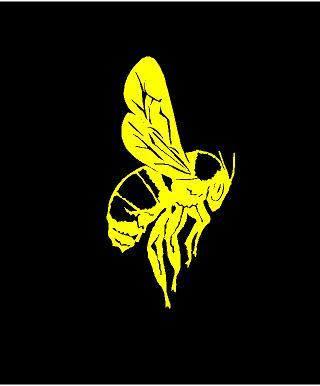 Honey Bee decal custom vinyl car truck window laptop bumble bee sticker