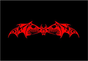 Tribal Bat Decal Custom Vinyl Car Truck Window Laptop Sticker
