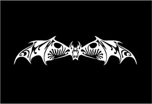 tribal bat decal car truck window bat sticker