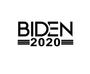 Biden 2020 car sticker