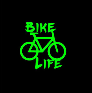 bike life car decal