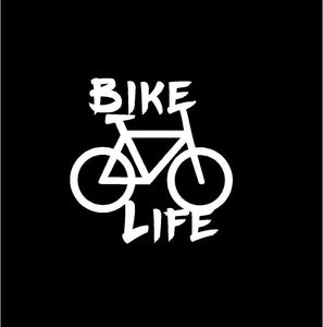 bike life car window decal