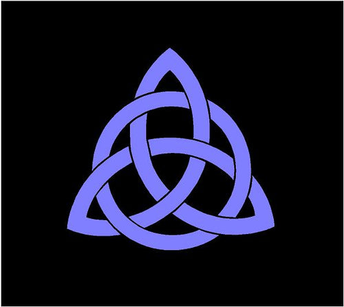 celtic trinity knot decal