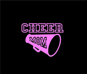 cheer mom car decal