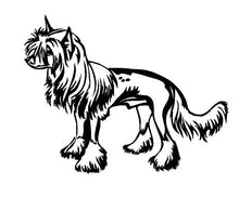 Load image into Gallery viewer, chinese crested dog decal