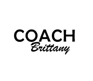 coach gift decal