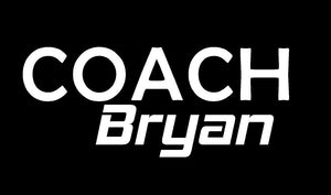 coach name decal
