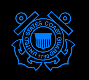 coast guard car sticker