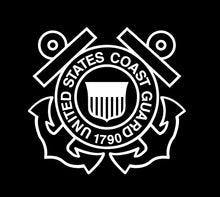Load image into Gallery viewer, us coast guard decal