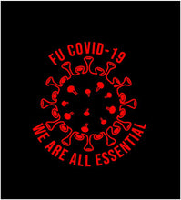 Load image into Gallery viewer, we are all essential car sticker covid decal