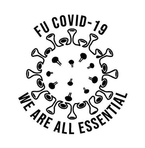 We are all essential covid 19 decal