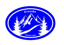 Load image into Gallery viewer, creede co car windown sticker