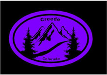 Load image into Gallery viewer, creede co bumper sticker