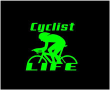 Load image into Gallery viewer, cyclist life decal