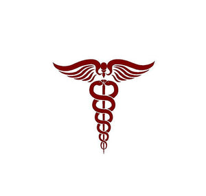 Doctor Physician Symbol Custom Vinyl Car Truck Window Laptop Sticker