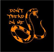 Load image into Gallery viewer, Don't Tread on Me decal Custom Vinyl car truck window sticker