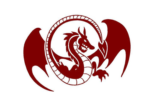 dragon decal car truck window laptop sticker