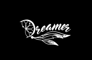 Dreamer Dream Catcher Decal custom vinyl Car Truck Window Sticker