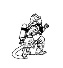 Load image into Gallery viewer, fireman decal