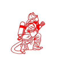Load image into Gallery viewer, firefighter decal